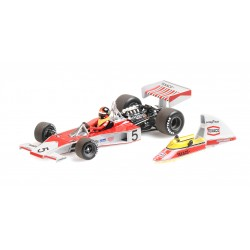 McLaren Ford M23 F1 World Champion 1974 Emerson Fittipaldi Minichamps 436740005