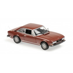 Peugeot 504 Coupe 1976 Brown Maxichamps 940112120