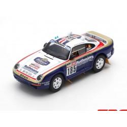 Porsche 959 185 Rallye Paris Dakar 1985 Ickx - Brasseur Spark S7817
