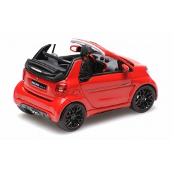 Smart Brabus Ultimate 125 Cabriolet 2017 Red Minichamps 437036231