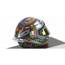 Casque 1/8 AGV Valentino Rossi Moto GP Test Sepang 2018 Minichamps 399180076