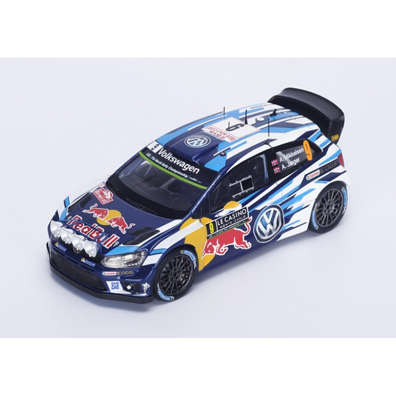 volkswagen polo r wrc 9 rallye monte carlo 2016 mikkelsen jaeger synnevag spark s4961. Black Bedroom Furniture Sets. Home Design Ideas