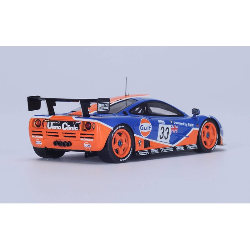 mclaren f1 gtr 33 24 heures du mans 1996 spark s4406 miniatures minichamps. Black Bedroom Furniture Sets. Home Design Ideas