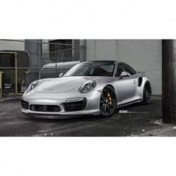 Porsche 991.2 Turbo S Wheel 2018 Black Silver Minichamps 500611991