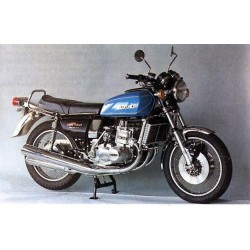 Suzuki GT 750 J 1973 Blue Metallic Minichamps 122162102
