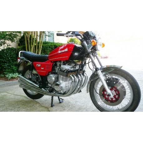 Benelli 750 SEI 1975 Dark Red Minichamps 122123002