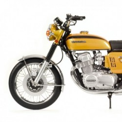 Honda CB 750 K0 1968 Gold Metallic Minichamps 062161001