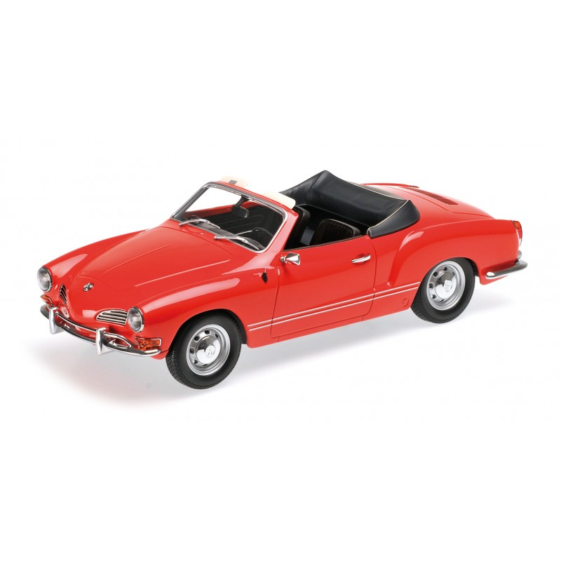 volswagen karmann ghia cabriolet rouge 1970 minichamps 155054030 miniatures minichamps. Black Bedroom Furniture Sets. Home Design Ideas