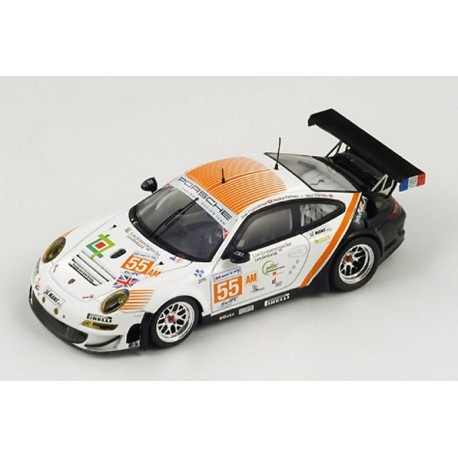 Porsche 997 GT3 RSR 55 24 Heures du Mans 2012 Spark S3734