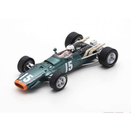 BRM P126 15 F1 2ème Monaco 1968 Richard Attwood Spark S5282