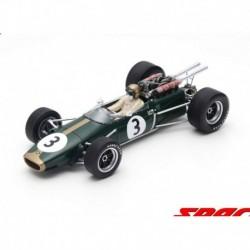 Brabham BT24 3 F1 Winner France 1967 Jack Brabham Spark 18S503