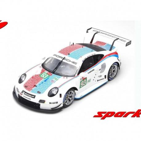 Porsche 911 RSR 93 24 Heures du Mans 2019 3ème LMGTE Pro Class Spark 12S020
