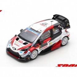 Toyota Yaris WRC 17 Rallye Monte Carlo 2020 2ème Ogier Ingrassia Spark S6551