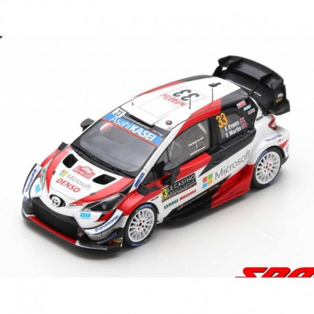 Toyota Yaris WRC 33 Rallye Monte Carlo 2020 3ème Evans Martin Spark S6552