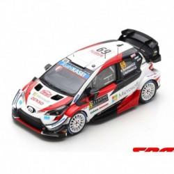 Toyota Yaris WRC 9 Rallye Monte Carlo 2020 Rovanpera Halttunen Spark S6554