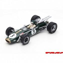 Brabham BT24 3 F1 3ème Afrique du Sud 1968 Jochen Rindt Spark 18S504
