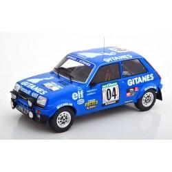 Renault 5 alpine 4 Rallye Bandama 1978 Ragnotti Andrie IXO 18RMC043A