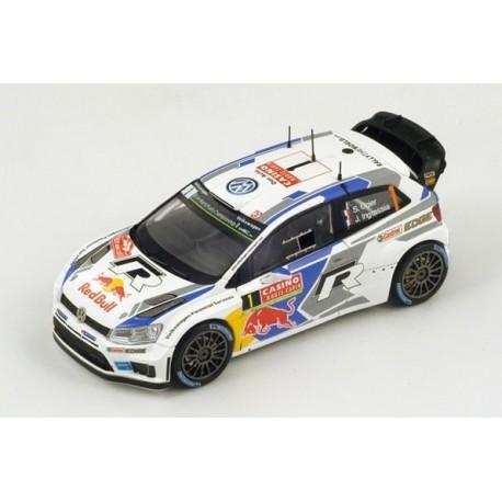 Volkswagen Polo WRC 1 WRC Monte Carlo 2014 Ogier Ingrassia Spark S3785