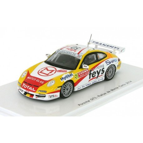 Porsche 996 GT3 50 WRC Monte Carlo 2014 Duez Vyncke Spark S3797