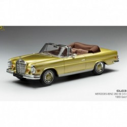 Mercedes 280SE W111 3.5 1969 Gold Metallic IXO CLC315N