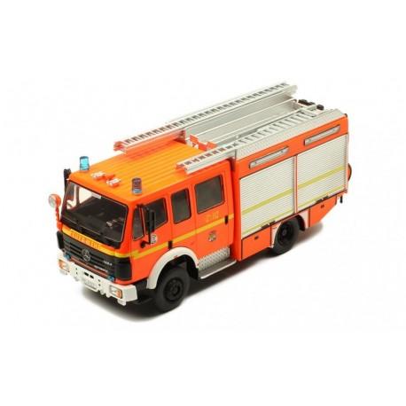 Mercedes LF 16/12 Ziegler fire brigade Hamburg 1995 IXO TRF015S