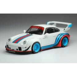 Porsche RWB 993 White Martini IXO MOC209