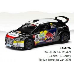 Hyundai I20 R5 19 Rallye Terre du Haut-Var 2019 Loeb Godey IXO RAM736