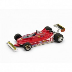 Farrari 312 T4 11 F1 Italie World Champion 1979 Jody Scheckter Brumm R511