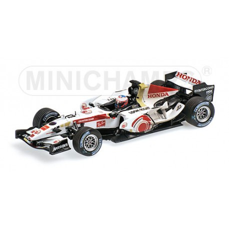 Honda RA106 Hongrie 2006 Jenson Button Minichamps 400060412