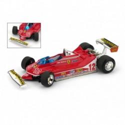 Ferrari 312 T4 12 F1 France 1979 Gilles Villeneuve Brumm R512-RS