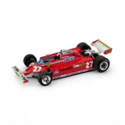 Ferrari 126CK 27 F1 Italie 1981 Gilles Villeneuve Brumm R390
