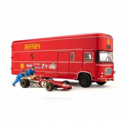Race Transporter Set OM Rolfo Scuderia Ferrari F1 Italie 1970 Jacky Ickx Brumm TS04B