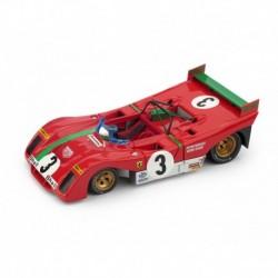 Ferrari 312 PB 3 Winner Targa Florio 1972 Merzario Munari Brumm R261B