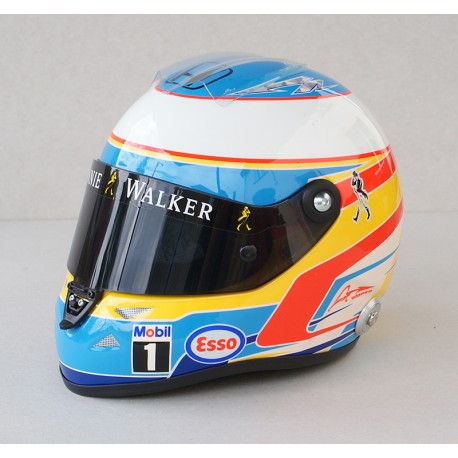 Casque 1/2 Fernando Alonso F1 2015 Schuberth