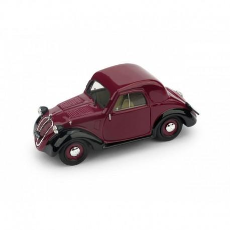 Fiat 500A 1a serie Tetto metallico 1936 Amaranto - Nero Brumm R022-02