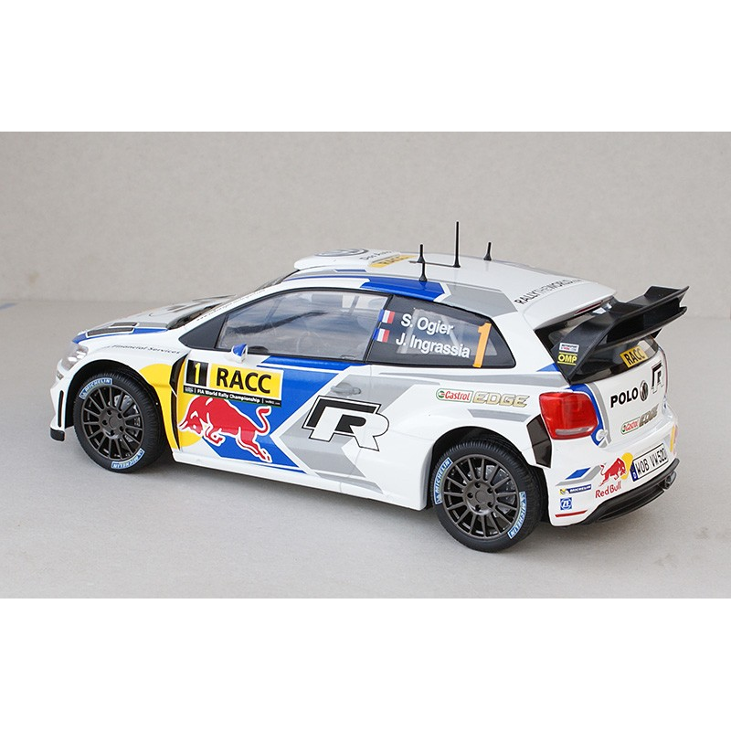 volkswagen polo 1 wrc espagne 2014 ogier ingrassia norev 188477 miniatures minichamps. Black Bedroom Furniture Sets. Home Design Ideas