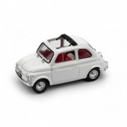 Fiat 500D Aperta 1964 Bianco Brumm R404-02
