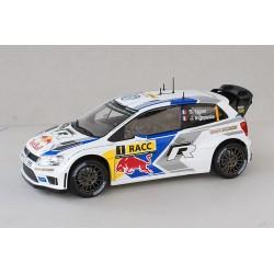 Volkswagen Polo 1 WRC Espagne 2014 Ogier Ingrassia Norev 188477