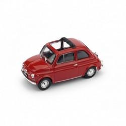 Fiat 500F Aperta 1965 Red Brumm R454-01