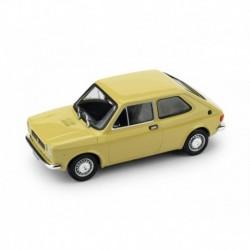 Fiat 127 1A Serie 1971 Giallo Tahiti Brumm R500-03