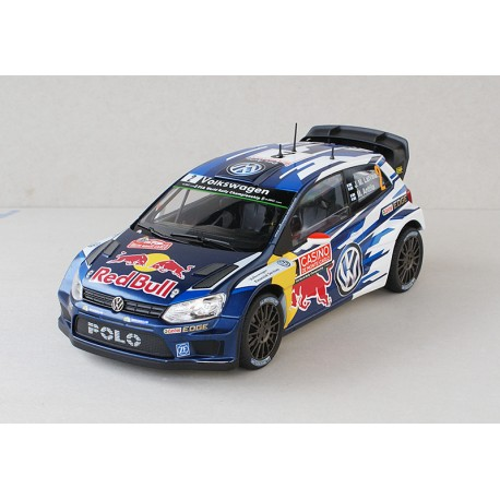 volkswagen polo 2 wrc monte carlo 2015 latvala anttila norev 188478 miniatures minichamps. Black Bedroom Furniture Sets. Home Design Ideas