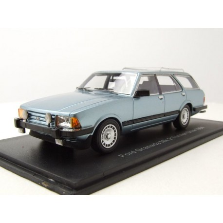Ford Granada Turnier Ghia 1984 Blue Metallic NEO NEO44257