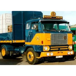 Volvo F88 1971 Dark Blue Yellow MCG MCG18140
