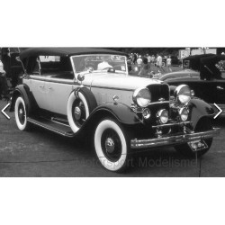 Ford Lincoln KB closed canopy 1939 Black White Sunstar SUN6163