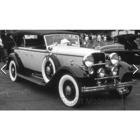 Ford Lincoln KB closed canopy 1939 Black White Sunstar SUN6163
