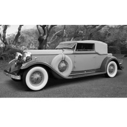 Ford Lincoln KB closed canopy 1932 Beige Green Sunstar SUN6164