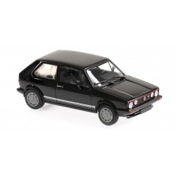 Volkswagen Golf GTI 1983 Black Maxichamps 940055172