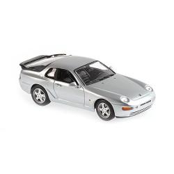Porsche 968 CS 1993 Silver Metallic Maxichamps 940062320