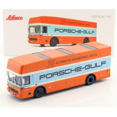 Mercedes Transporteur O317 Porsche Gulf 1966 Schuco 450372800