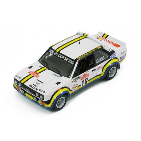 Fiat 131 Abarth 18 Rallye de San Remo 1978 Pasetti Barban IXO RAC205
